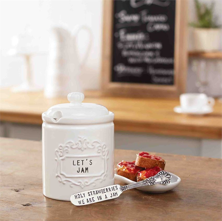 Jam Jar & Spreader set