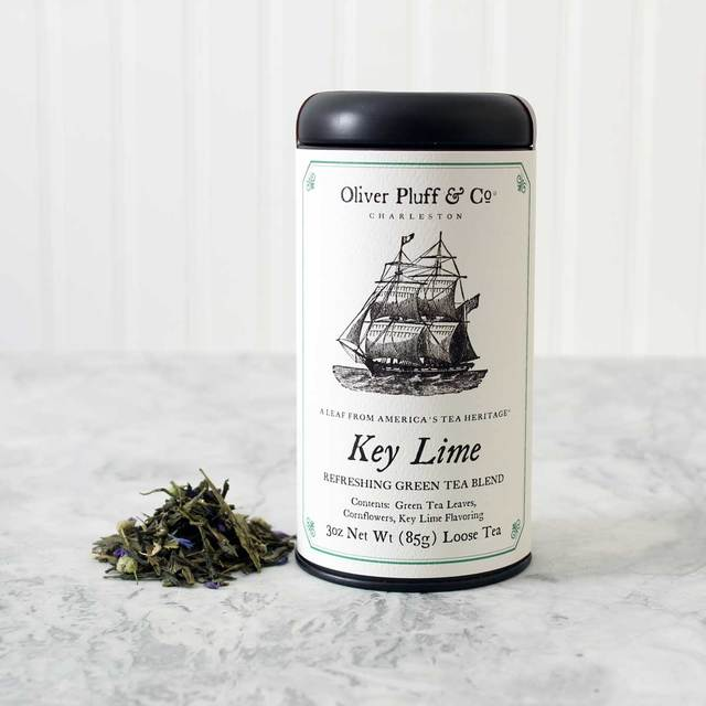 Oliver Pluff Key Lime Green Tea