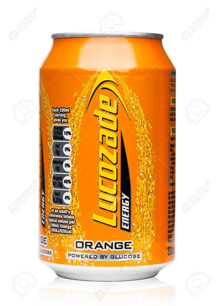 Lucozade Orange Energy Drink (330ml can)