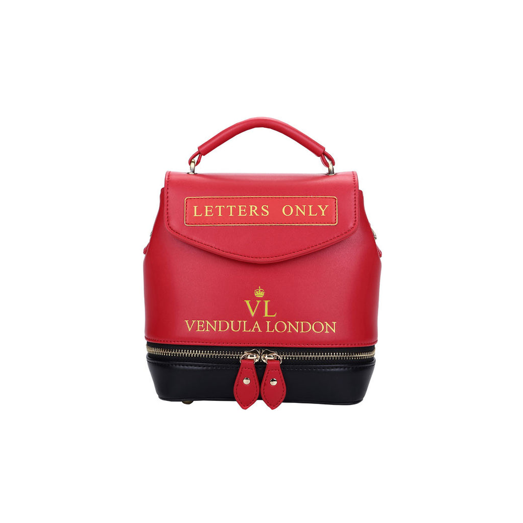 Vendula - Post Box Mini Satchel Bag