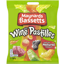 Maynards Bassetts Wine Pastilles 160g