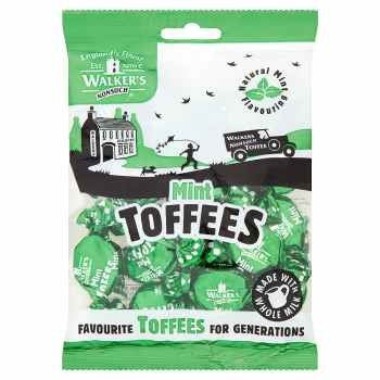 Walkers Mint Toffee Bag (150g)