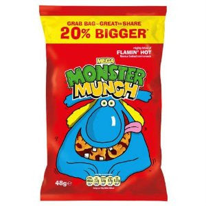 Crisps Monster Munch Flaming Hot