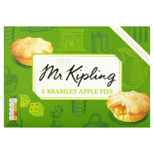 Mr Kipling  Bramley Apple Pies 6pk