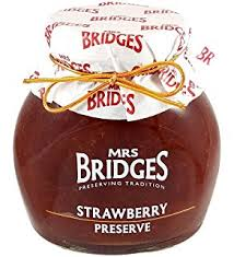 Mrs Bridges Strawberry Preserve 340g