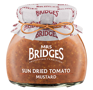 Mrs Bridges Sun Dried Tomato Mustard 200g
