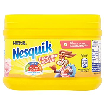 Nestle Nesquik Strawberry Flavour (300g)