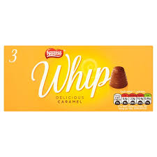 "Nestle Whip ""Delicious Caramel"" 3pk"