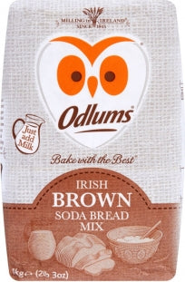 Odlums Irish (BROWN) Soda Bread Mix (1kg)