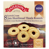 Paterson's Shortbread Strawberry Rounds