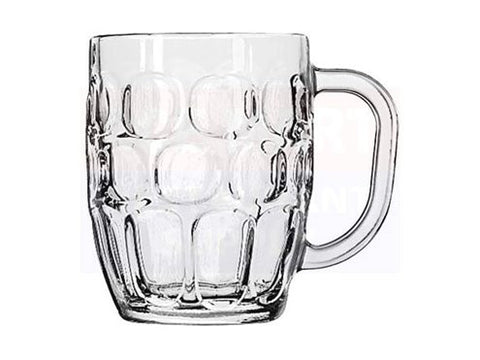 Traditional Dimpled Pint Glass