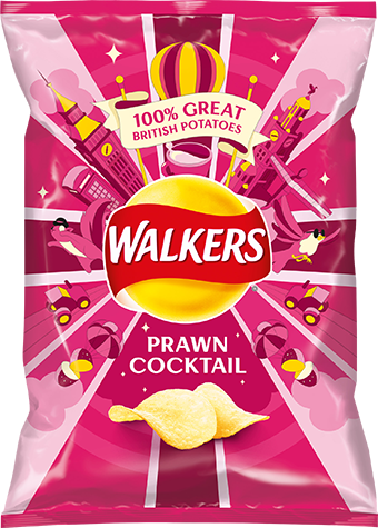 Crisps Walkers Prawn Cocktail