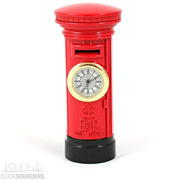 Royal Mail Post Box Clock (Reduced)