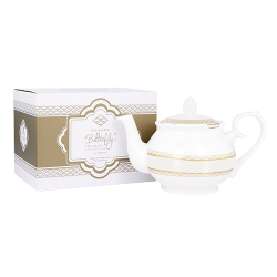 Madame Butterfly  4 cup Teapot Ivory