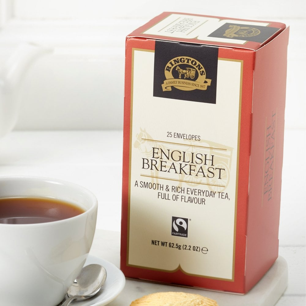 Ringtons English Breakfast Tea (25 bags)
