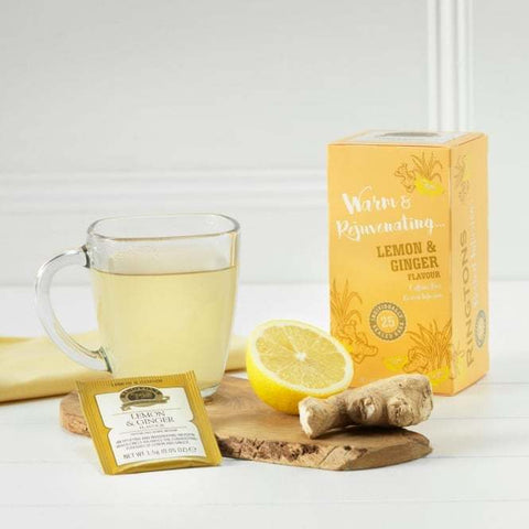 "Ringtons Tea Herbal Infusions ""Lemon & Ginger"" Flavour (25 bags)"