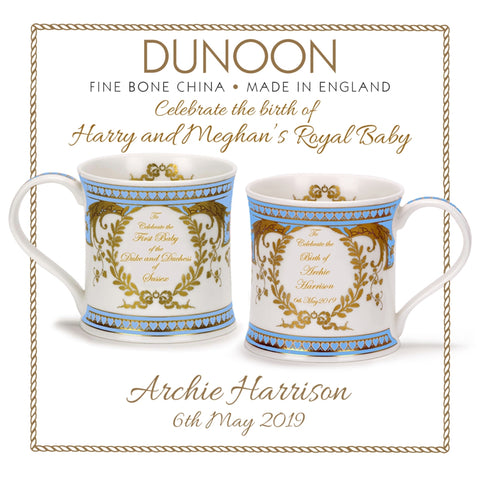 DUNOON ROYAL BABY ARCHIE BONE CHINA MUG. #NEW ARRIVAL#