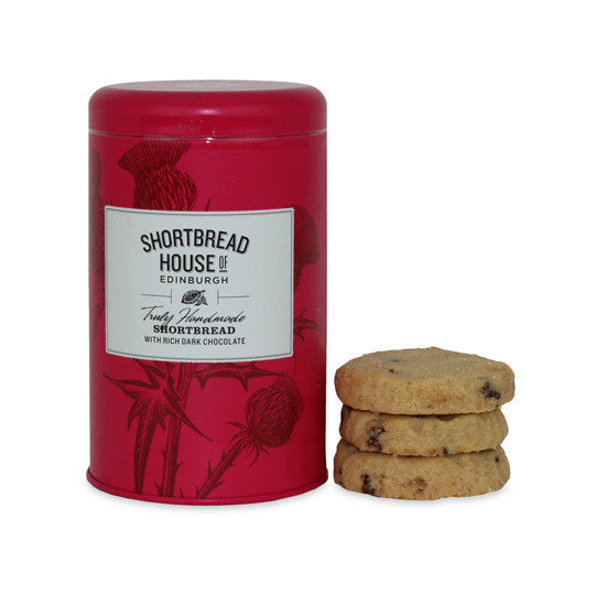 ShortBread House - Dark Chocolate Shortbread Tin 140g