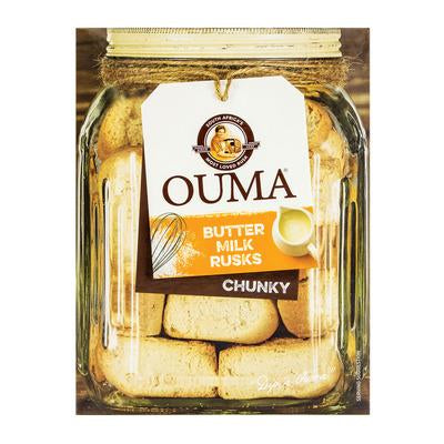 Ouma Butter Milk Rusks Chunky 500G