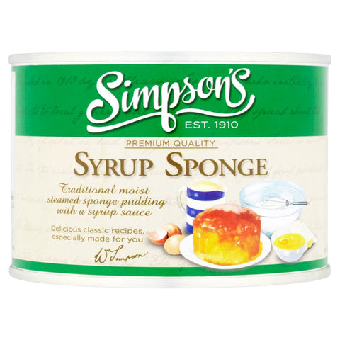 Simpson's syrup pudding 300g