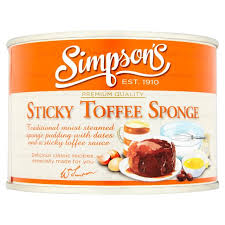 Simpsons Sticky Toffee Sponge 300g