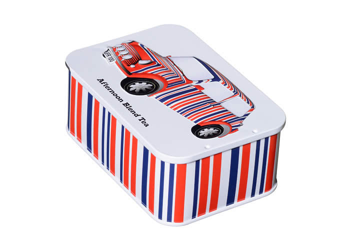Sliding top Tea Tin 10 Bags if English Breakfast Tea