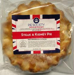 Steak & Kidney Pie (by Pie Society) 9oz
