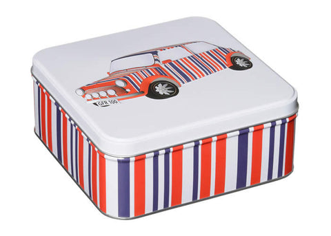Union Jack tea and biscuit tin