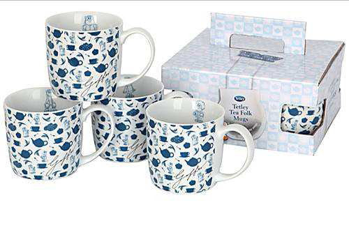 Tetley Mug set (4) REDUCED