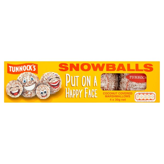 Tunnocks Snowballs 4pk