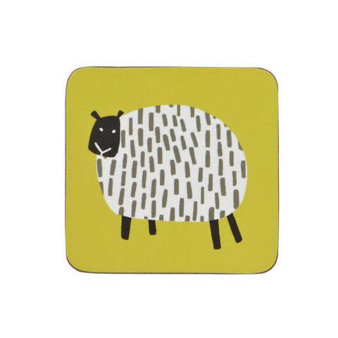 Ulster Weaver Dotty Sheep Coasters