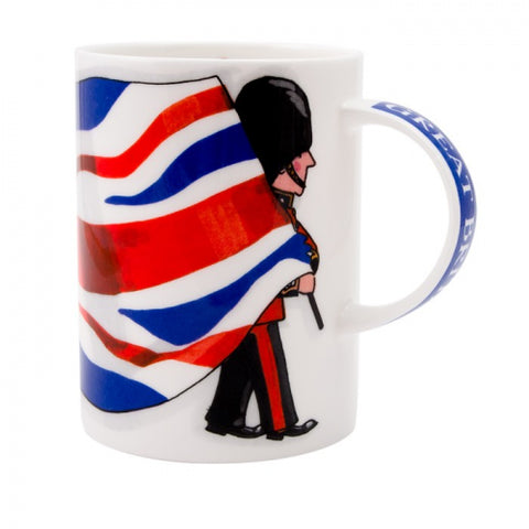 Union Jack Bone China Mug