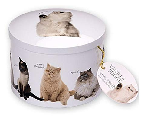 Gardiners Vanilla Fudge Cat Tin - 200g