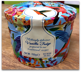 Gardiners Vanilla Fudge Humming bird tin - 200g
