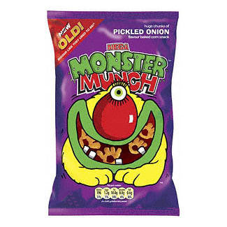 Crisps Walkers Monster Munch Pickled Onion