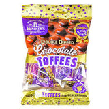 Walkers Double Dipped Chocolate Toffees 135g