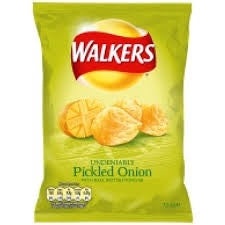 Crisps Walkers Pickled Onion