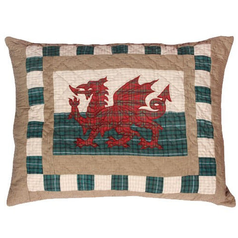 Woven Magic Welsh Cushion 27''x21''