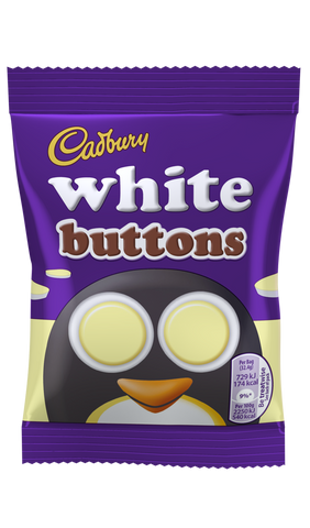 Cadbury White Chocolate Buttons (Orig. small)