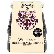 Williams British Blackcurrant Jam