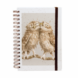 Wrendale Spiral Notebook Owl