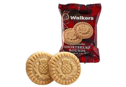 Walkers Pure Butter Shortbread Rounds (34g)