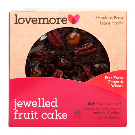 Lovemore Jewelled Fruit Cake (420g)