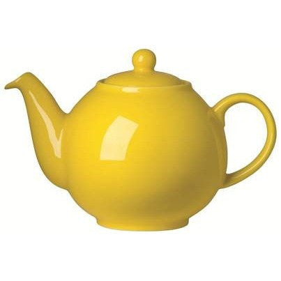 The London Pottery Company Yellow-Globe Teapot (6cup)