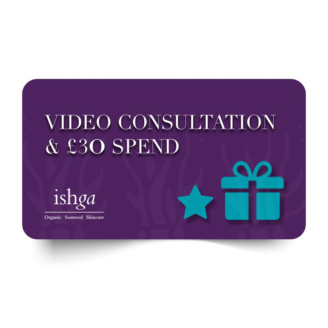 Video consultation with an ishga skincare expert and £30 online spend