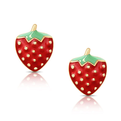 Strawberry Stud Earrings
