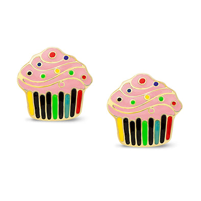 Cupcake Stud Earrings