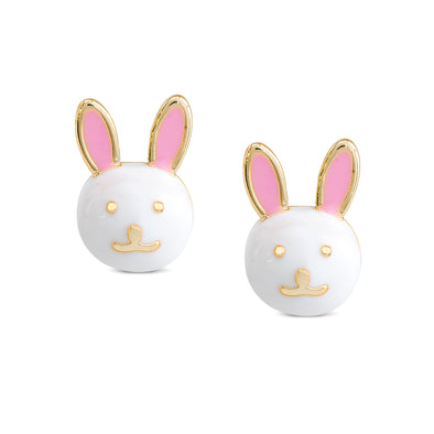 Bunny Rabbit Stud Earrings