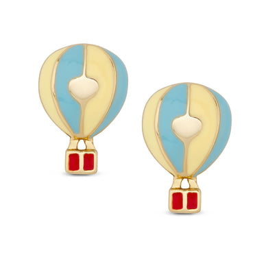 Hot Air Ballon Stud Earrings