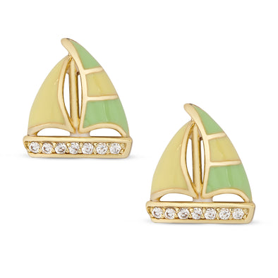 Sailboat Stud Earrings